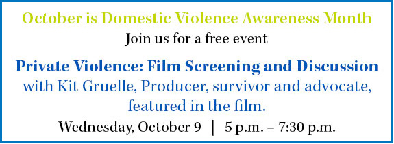 Private Violence Screening