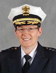 Police Chief Kimberley Jacobs